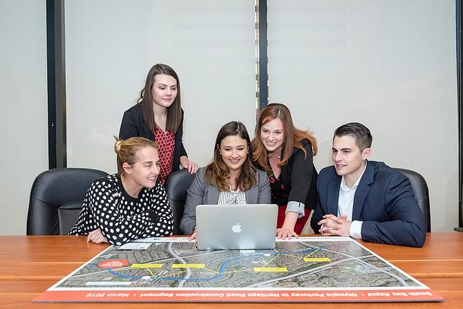 A few of Southwest Strategies' 35 San Diego employees. Photo courtesy of Southwest Strategies.
