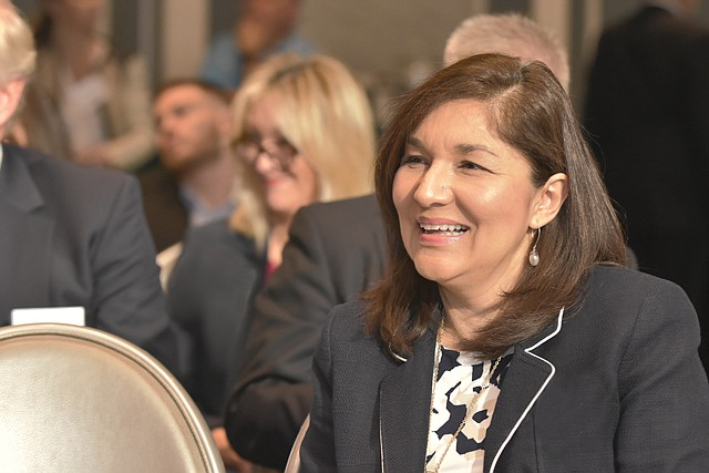 In the Money: L.A. Area Chamber Chief Executive Maria Salinas said the database will help local businesses access billions of dollars.