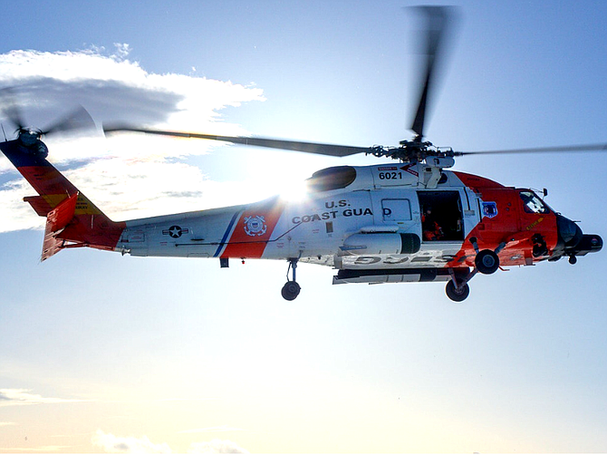 San Diego-based Affordable Engineering Services Inc. will maintain U.S. Coast Guard MH-60T helicopters under a new contract. Photo courtesy of AES.