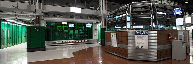 The data center at ScaleMatrix serves cloud and colocation customers. Photo courtesy of ScaleMatrix.