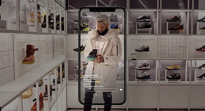 """E-tail app NTWRK's tagline, """"shopping at the speed of culture,"""" nods to the frenzy it tries to create online with an """"upcoming drops"""" ticker that counts down to when its next product will become available."""