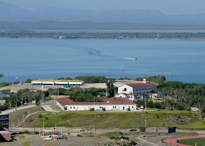 A view of Naval Station Guantanamo Bay, where RQ Construction will build. Photo courtesy of U.S. Navy.