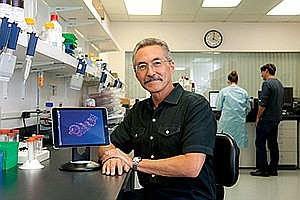 Jeffrey Stein, CEO of Cidara Therapeutics. Photo by Jamie Scott Lytle.