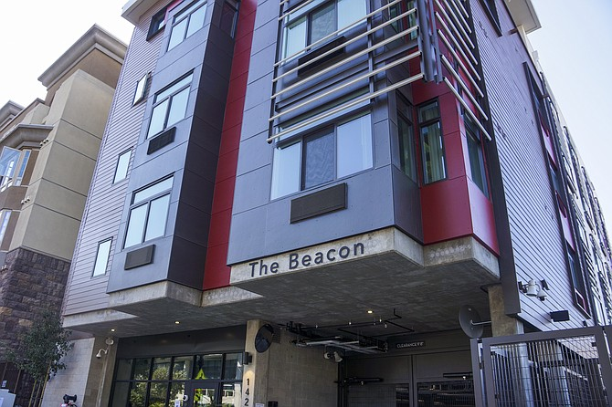 The Beacon affordable housing project opened in downtown San Diego in September. Photo courtesy of the San Diego Housing Commission.