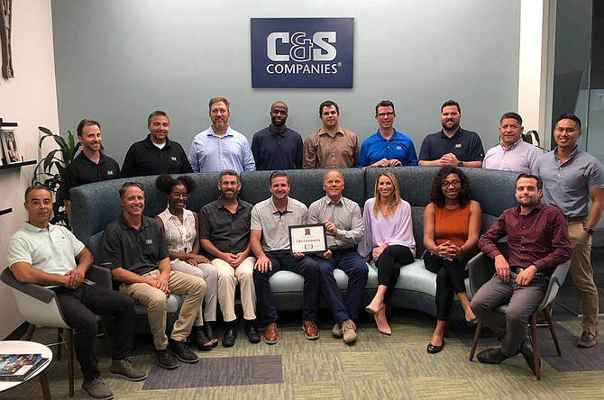 C&S Cos. makes it a mission to nurture employee growth. It also sees the value in building bonds outside the office environment. Photo courtesy of C&S Cos.