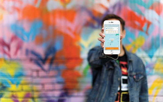 Screen Time: Commuters use Via Transportation's app to summon drivers.