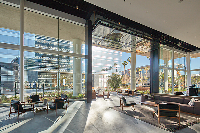 Glass Houses: Silicon Beach's Playa District, formerly the Hughes Center, was recently modernized.