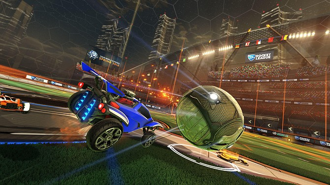 Psyonix, the developer behind hit-game 'Rocket League,' was acquired by Epic Games earlier this year. Image courtesy of Psyonix.
