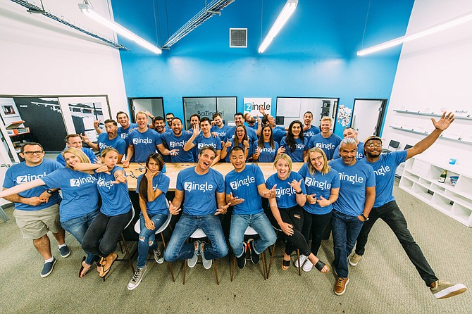Zingle was acquired for $42 million by San Francisco-based software company Medallia. The company will remain headquartered in Carlsbad. Photo courtesy of Zingle.