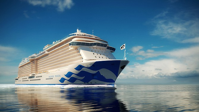 Rendering of Princess Cruises' Discovery Princess.