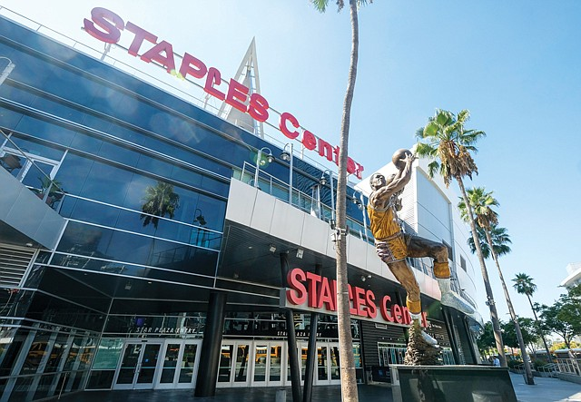 Standing Tall: Staples Center hosts as many as 250 events a year.