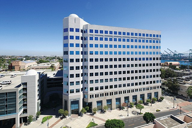 Office Draw: Harbor Associates bought San Pedro's Topaz building.