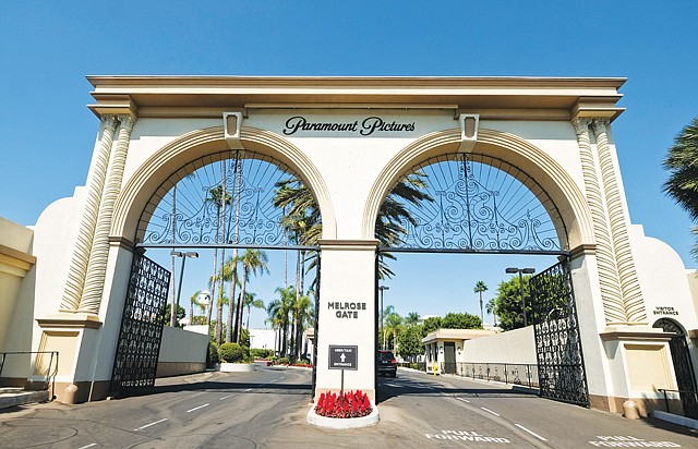 Paramount Pictures' Hollywood studio.