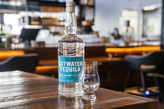 Cutwater Spirits' Rayador Tequila Blanco is made of 100% blue mexican agave. Photo courtesy of Cutwater Spirits.