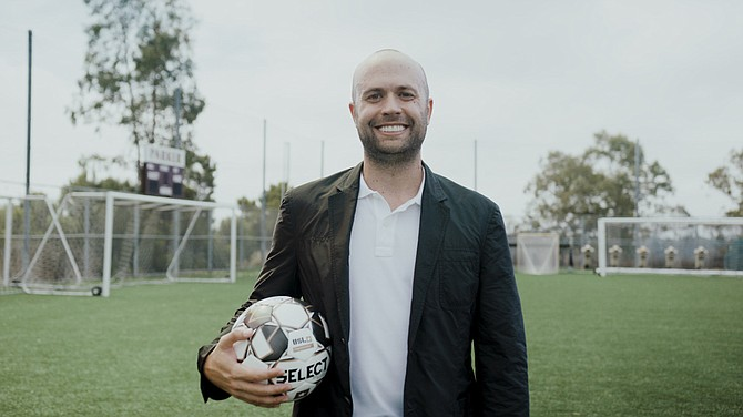Local businessman and philanthropist Andrew Vassiliadis has been named chairman of the United Soccer League San Diego Team. Photo courtesy of United Soccer League.