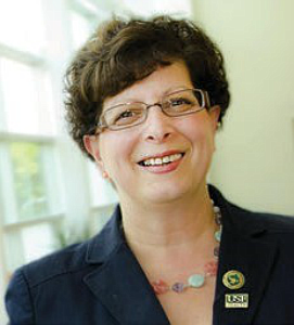 Constance Visovsky, PH.D., RN, ACNP, FAAN, of the University of South Florida college of nursing, is principal investigator for the NCI grant.