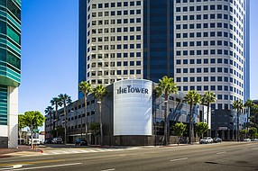 The Tower at 3900 W. Alameda Ave. in Burbank.