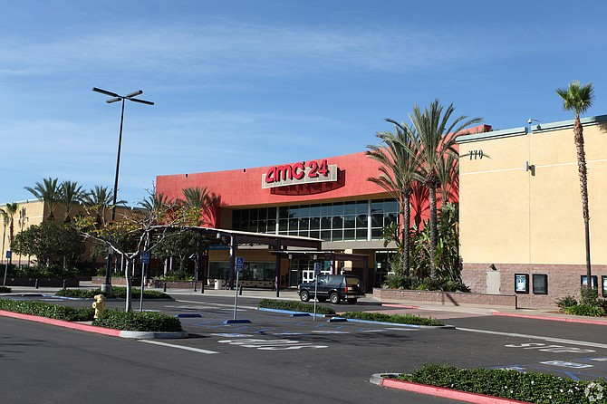AMC Theaters at Park Promenade recently sold for $32.3 million. Photo courtesy of Colliers International.