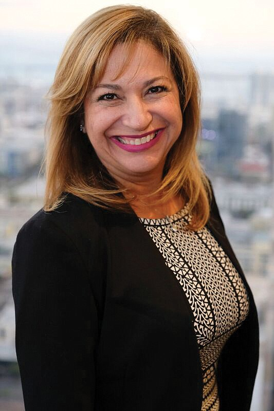 Moving On: California Bank & Trust's Betty Uribe has left the bank.