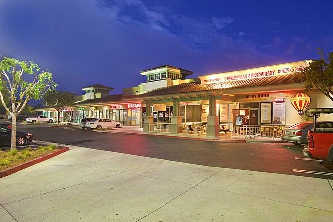 Capstone Advisors sold Sabre Springs Plaza in San Diego. Photo courtesy of Capstone Advisors.