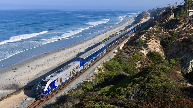 An additional roundtrip between San Diego and Los Angeles is expected to be introduced in fiscal year 2020-2021. Photo courtesy of LOSSAN Rail Corridor Agency.