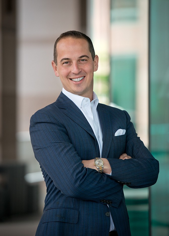 Tony Sciarrino, anaging Director and Segment Head for Middle Market Banking & Specialized Industries (MMBSI) in California for JPMorgan Chase's Commercial Banking team.
