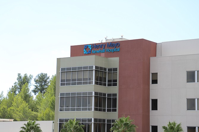 New patient tower at Henry Mayo Newhall Hospital in Valencia.