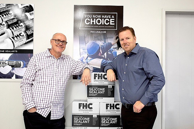 FHC Senior Vice President Barry Sutherland and President Chris Hanstad