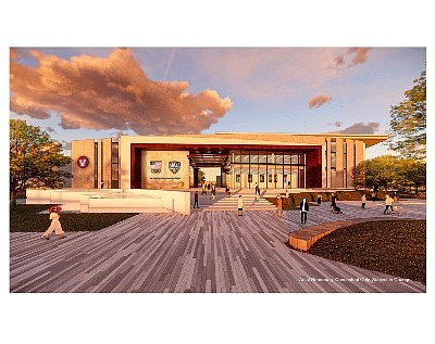 Rendering: USA Water Polo HQ at Great Park