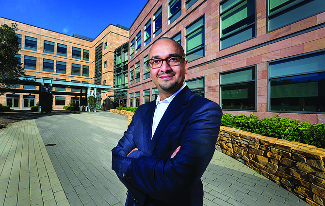 Illumina CEO Francis deSouza said the company had a solid third quarter. Photo by Jamie Scott Lytle.