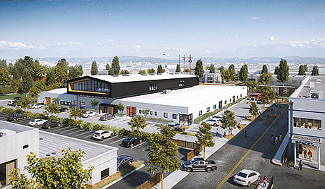 New Home: M-Rad designed Ring's HQ in Hawthorne.