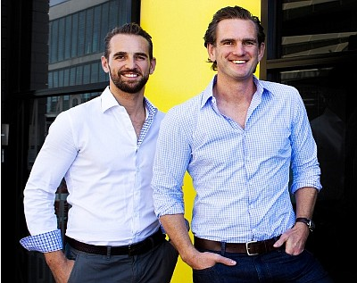 Bastion Collective founders Fergus and Jack Watts.