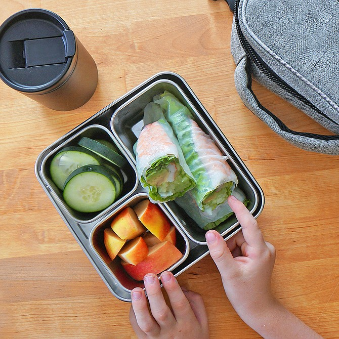ReVessel is a company that makes sustainable, travel-friendly food storage containers, like the Adventure Kit, pictured here. Photo courtesy of ReVessel.