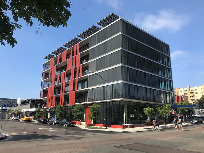 Downtown San Diego's Block D was awarded top marks for sustainability. Photo courtesy of BNIM Architects.