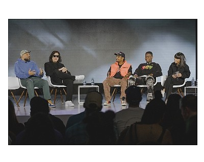 Streetwear panel at ComplexCon