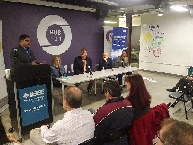 Cybersecurity Panel at Hub101 in Westlake Village.