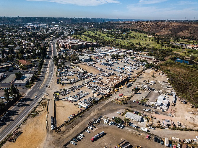 The four parcel site for the development was acquired from two families in October for $48.6 million. Photo courtesy of G.H. Palmer Associates.