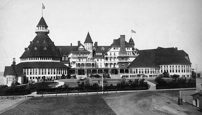 Founded in 1888, the Hotel Del is going through an almost $400 million multiyear redevelopment and expansion plan. Photo courtesy of Hotel del Coronado.