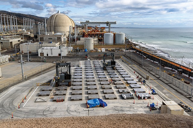 Tear Down: Decommissioning of the San Onofre nuclear power plant is scheduled to start next year.
