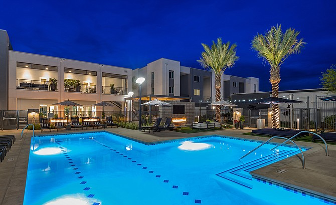 Alexan Millenia in Chula Vista was among recent apartment deals in San Diego County. Photo courtesy of Moran & Co.