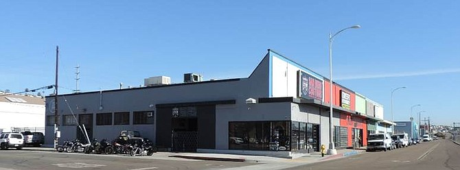 A Pacific Highway industrial building that once was a popular nightclub hosting rock stars of an earlier era has been sold. Photo courtesy of Capital Growth Properties.