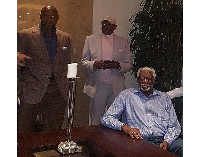 Alonzo Mourning, Spencer Heywood, Bill Russell