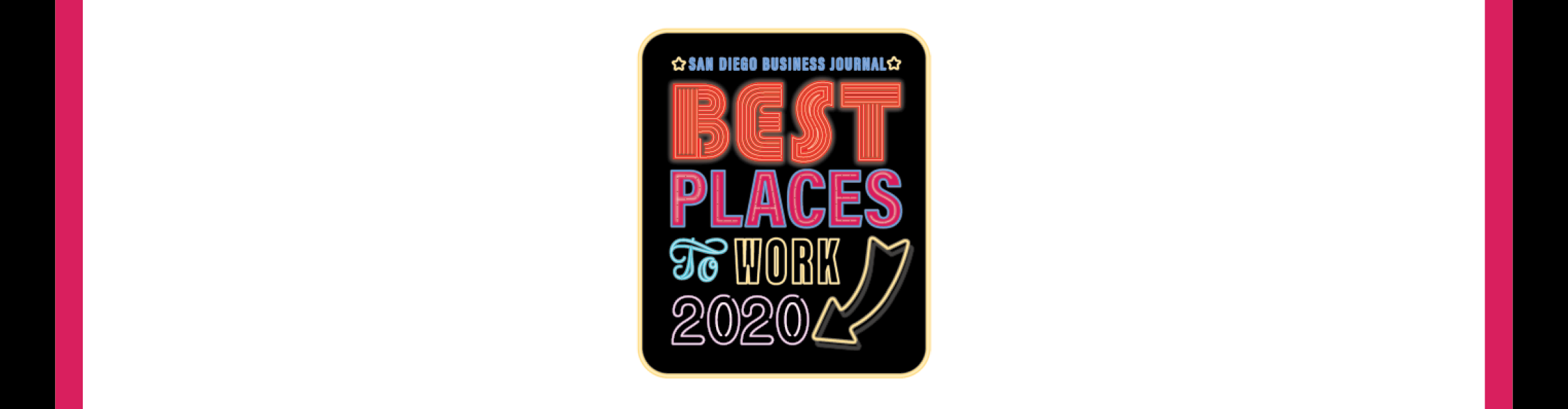 San Diego Business Journal Best Places to Work 2020