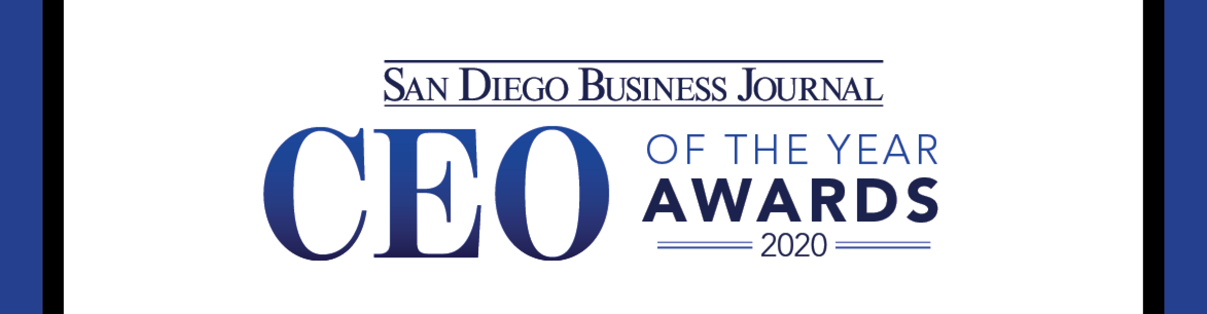 San Diego Business Journal CEO of the Year Awards