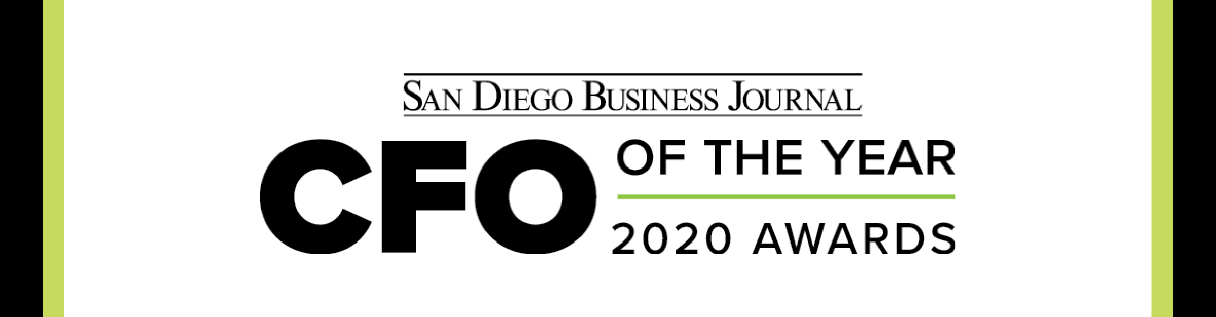 San Diego Business Journal CFO of the Year Awards