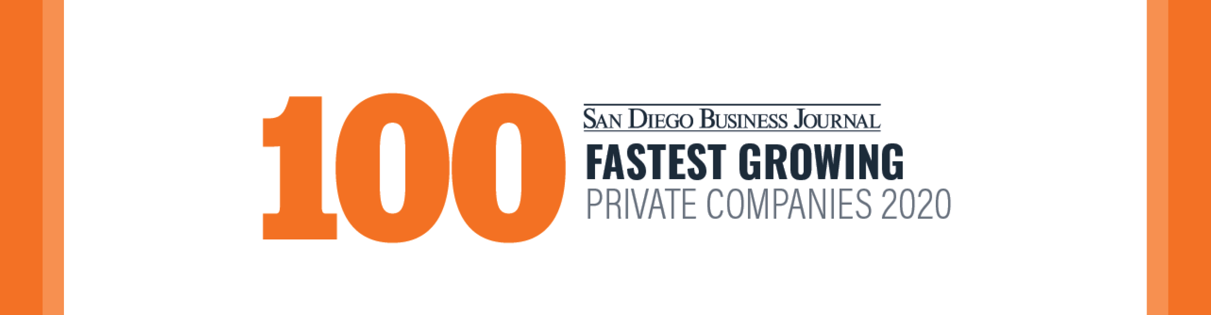 San Diego Business Journal Fastest Growing