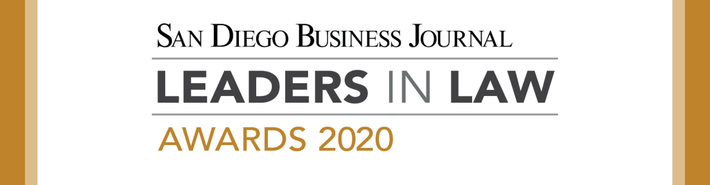 San Diego Business Journal Leaders in Law