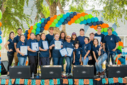 Community members were honored at NHF's 2nd Annual Block Party hosted in partnership with the Office of Community Beautification, SoCal Gas, Los Angeles Department of Public Works and the Office of Councilman Gil Cedillo.