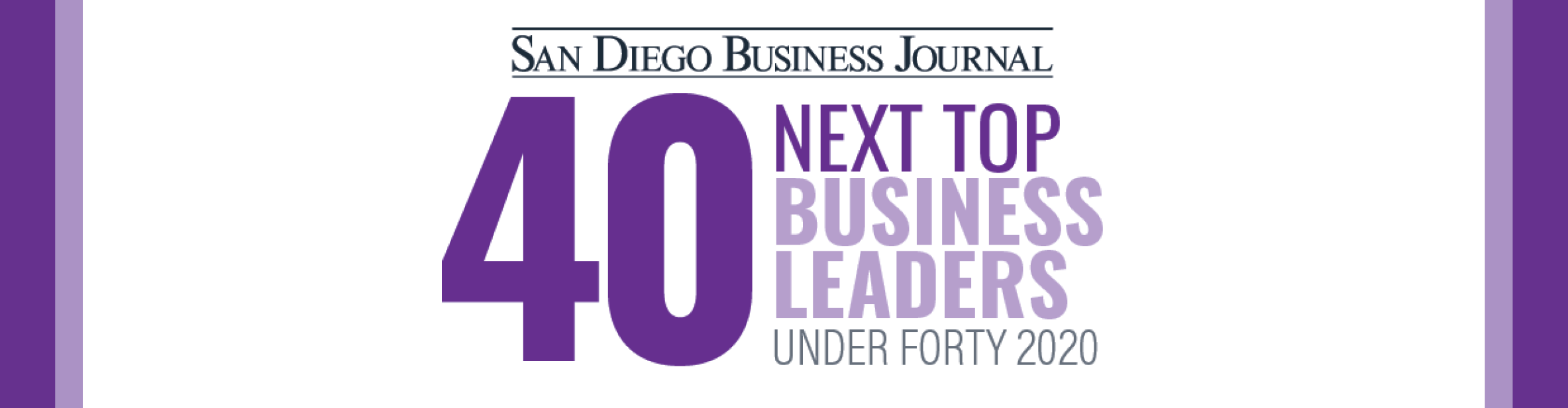 San Diego Business Journal Next Top 40 Under 40