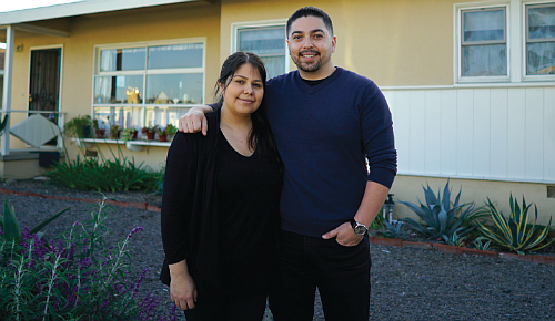 Siblings Leah and Kenneth Martinez say NeighborhoodLIFT made the difference in helping them become first-time homeowners.